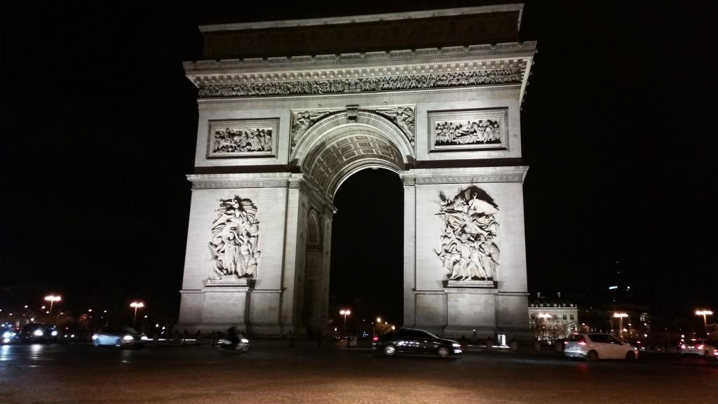 Триумфалната арка Париж HotelFinder търсене и оценка на хотели